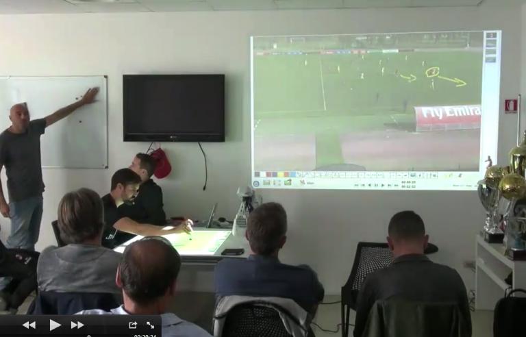 Reunião do staff técnico com Edgardo Zanolli| Crédito: Arquivo Pessoal
