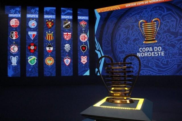 Sorteio da Copa do Nordeste. Foto: Divulgação