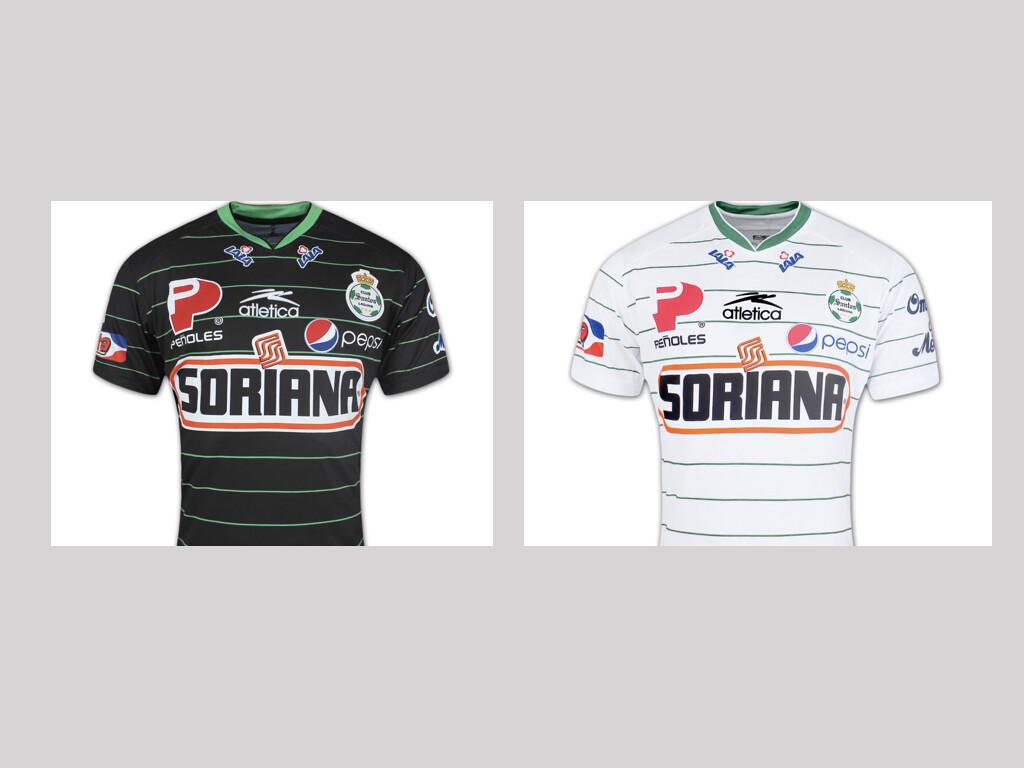Camisa do Santos Laguna/MEX da temporada 2010/2011